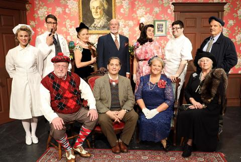 Cast of Harvey - Saybrook Stage Company